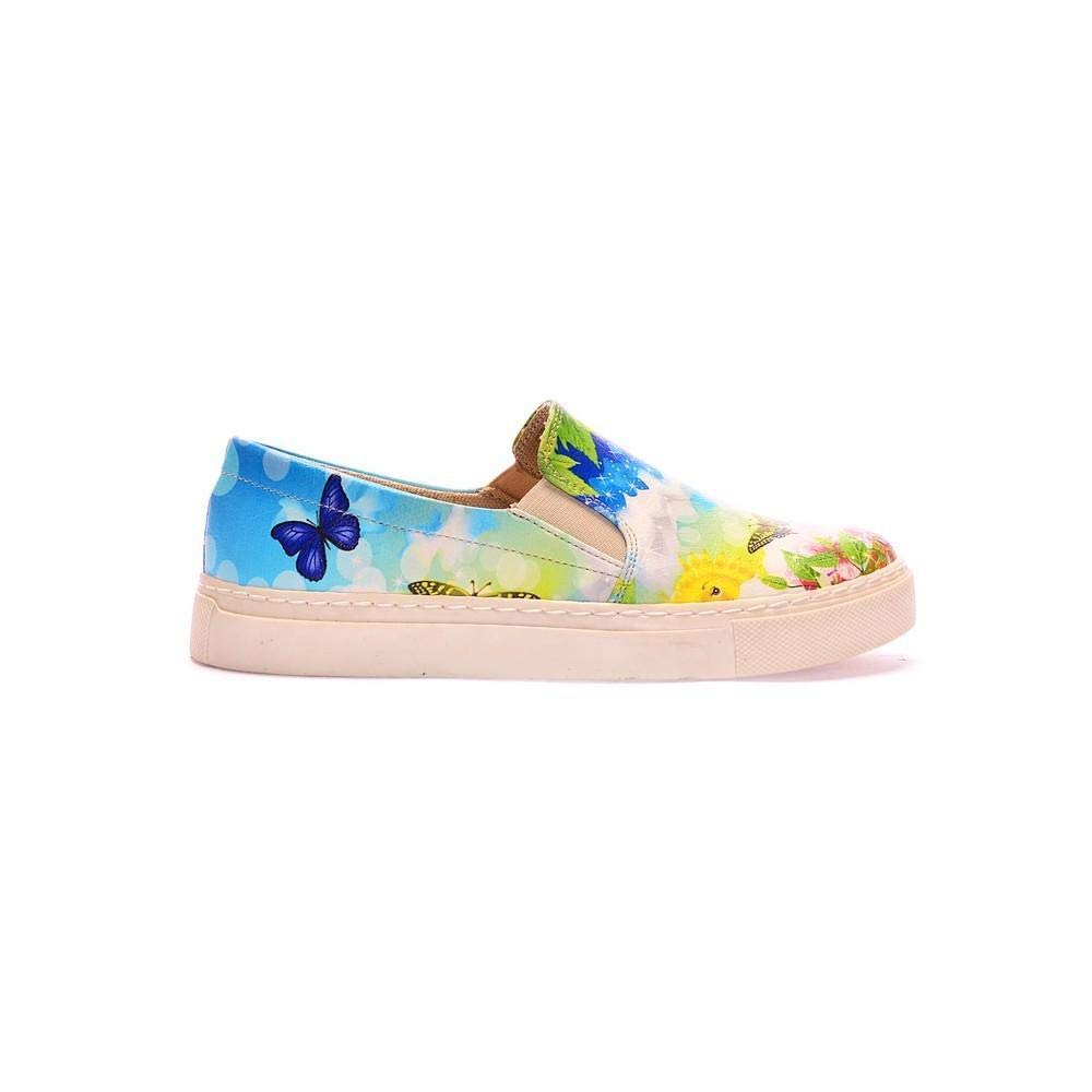 Goby Happy Day Slip on Sneakers Shoes COC4016