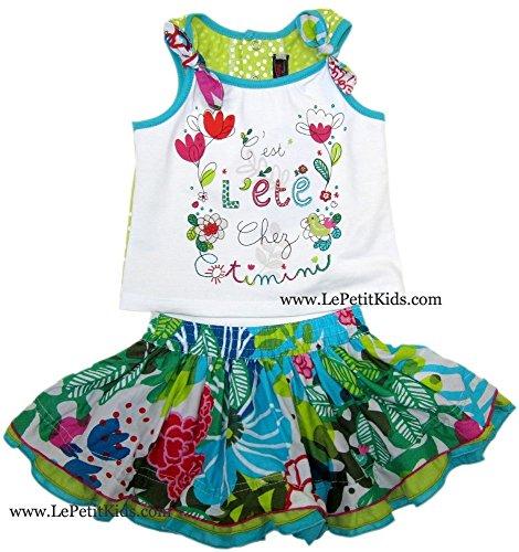 - Catimini Top & Skirt Set