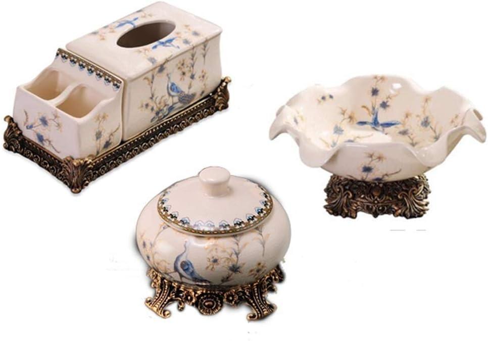車の灰皿, セラミック3灰皿フルーツボウルセット、コーヒーテーブルコーヒーテーブル/フルーツボウル/灰皿セットのテーブルデコレーション