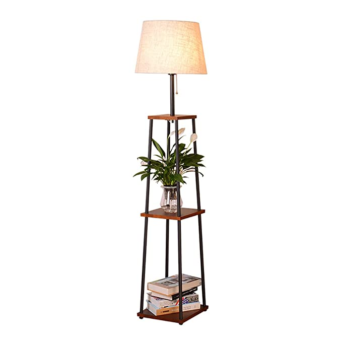 Amazon.com: Floor Lamp, Living Room Coffee Table Racks ...