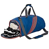 Riavika Travel Duffel Bag Lightweight Large Luggage Bag Carry on Sport Gym Bag-Blue