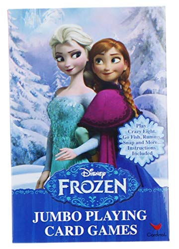 Disney Frozen Jumbo Card Game [Contains 2 Manufacturer Retail Unit(s) Per Amazon Combined Package Sales Unit] - SKU# 28816UP