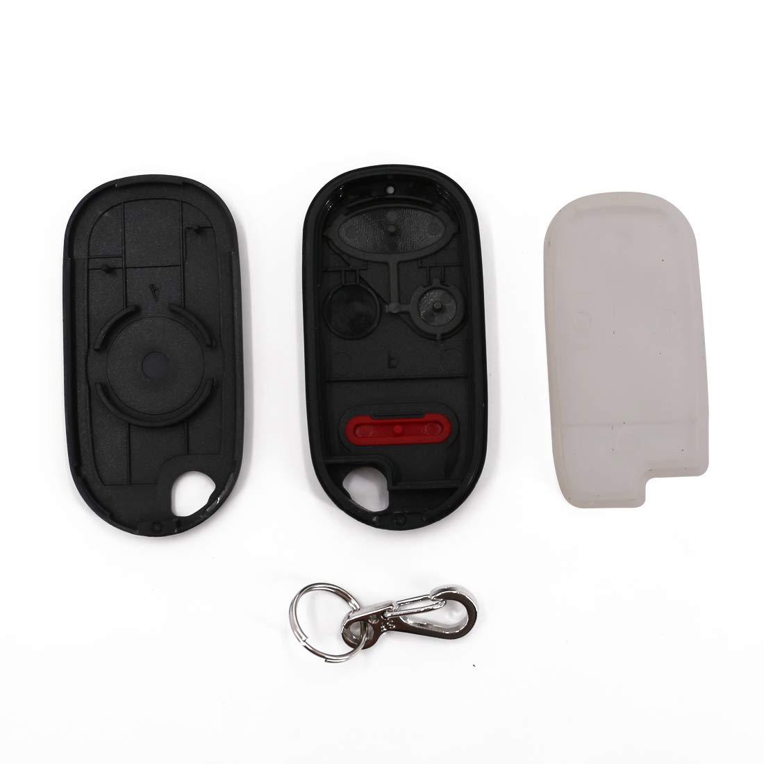 NHVWB1U521, NHVWB1U523 ONLY 2 Pack UTSAUTO Key Fob Shell Cover Keyless Entry Remote Clicker Replacement Keyless Entry Fits For Honda 2003-2008 Element//Honda 2002-2005 Civic Si