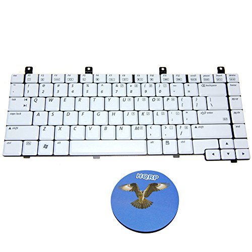 HQRP Laptop Keyboard for HP Compaq Presario M2000 / V2000 / V2100 / V2200 / V2300 / ZV5000 / ZV6000 / ZX5000 Series ; 367777-001/394363-001/394277-001/407856-001 Replacement Plus HQRP Coaster