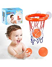 Bath Toy Fun Basketball Hoop & Balls Set for Boys and Girls Kid & Toddler Bath Toys Gift Set 3 Balls Included