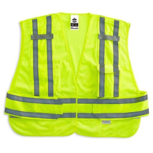 (Ergodyne - 8244PSV M/L Lime Expandable Public Safety Vest )