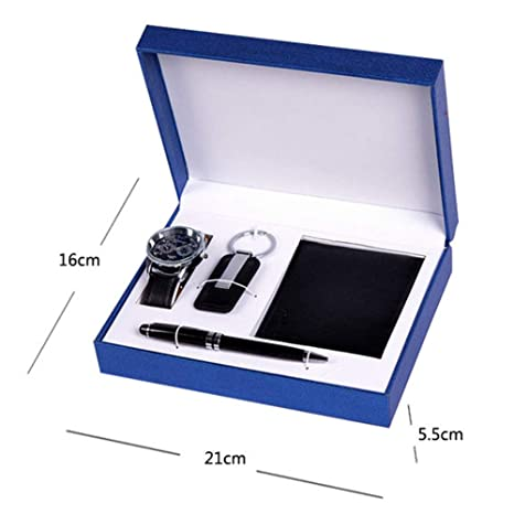 ♚Seven Gift Set Reloj para Hombre Promotion Fathers Day ...