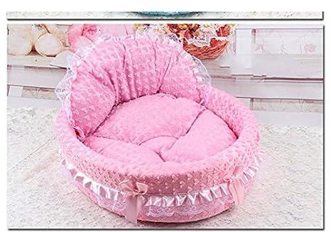 Encaje princesa mascota perro gato sofá cama cojín CAT House M/L: Amazon.es: Productos para mascotas