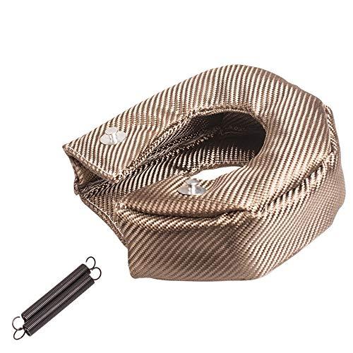 (labwork-parts T3 Titanium Lava Turbo Fiber Blanket Heat Shield Barrier Turbocharger Cover Wrap)