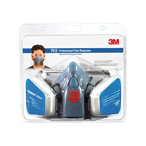 Professional Paint Respirator, Medium, 4 per Case