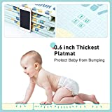 Gimars XL 0.6 inch Thicker Reversible Foldable Baby