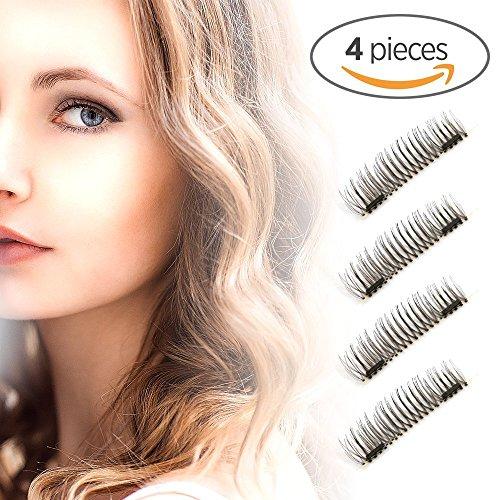 3673ab75a89 ReviewMeta.com: Long Dual Magnetic False Eyelashes, Ultra Thin 3D ...