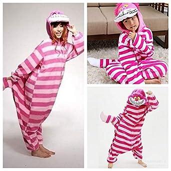 fcf34643f3 Z-zone Fashion Hot Kigurumi Pajamas Anime Cosplay Costume Unisex Adult  Onesie Cheshire Cat Keep