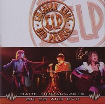 Emerson Lake & Palmer - Rare Broadcasts: Live in Switzerland/+DVD by