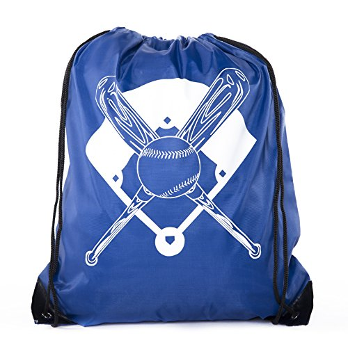 Goodie Bags for Kids | Drawstring Gift Bags with Logo for Bdays Parties + More - 10PK Royal CA2500PTY Baseball  sc 1 st  Shoplology & Baseball Goodie Bags - TOP 10 Results