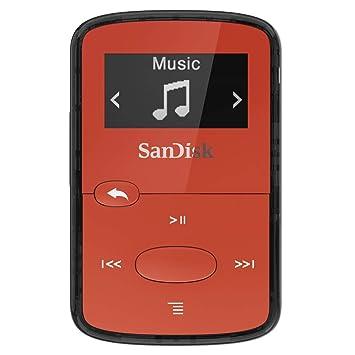 SanDisk SDMX26-008G-G46R Lecteur MP3 8 Go pour PC MAC Rouge  Amazon ... 9cfab3a17415