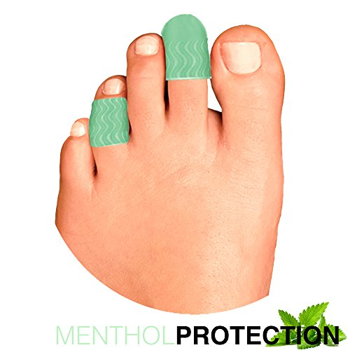 Price comparison product image Menthol Protection Gel Toe Cap & Spacer Tubular Protection