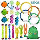 UTTORA Diving Toys Underwater Swimming Pool Toys Diving Game Training Gift for Kids Boys Girls