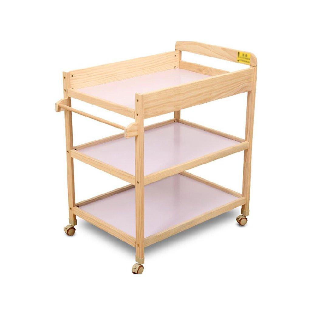 新生児の看護のタッチパッドの赤ちゃんの変化のテーブルソリッドウッドおむつテーブルおむつテーブルオリジナルパッド   B07DYGGPM2