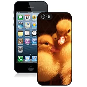 Fashion DIY Custom Designed iPhone 5s Generation Phone Case For Little Yellow Ducks Phone Case Cover