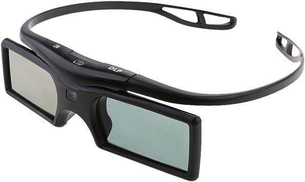 Ultra HD 144Hz 3D DLP-Link Gafas Activas para Proyector Optoma ...
