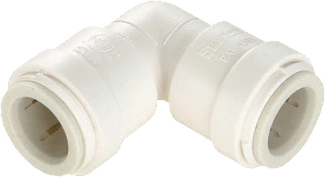 """5 Watts P-620 1//2/"""" Quick Connect Elbow Fitting for Pex Copper /& CPVC Pipe"""