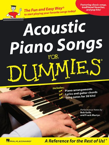 Acoustic Piano Songs for Dummies (Rock Songs For Dummies)