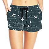 Women Sexy Hot Pants Summer Casual Shorts Travel Around The World Airplane Short Beach Trousers