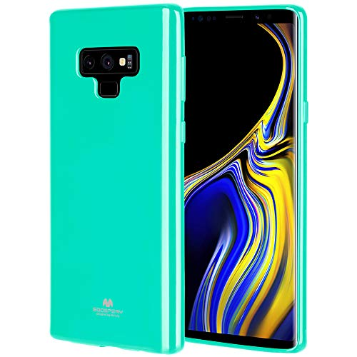 Goospery Pearl Jelly for Samsung Galaxy Note 9 Case (2018) Slim Thin Rubber Case (Mint) NT9-JEL-MNT