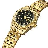 Wristwatches Sweetbless Women¡¯s Day/Week Quartz Stainless Steel Watches