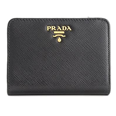 d1534d0febce PRADA(プラダ) 財布 レディース サフィアーノメタル 二つ折り財布 1ML018 QWA 002 [並行