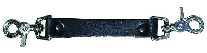 Boston Leather 5425-1 Anti-Sway Strap for Radio Strap, Black