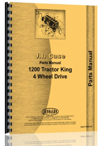 Kit 4wd Parts (Case 1200 4WD Traction King Tractor Parts Manual)