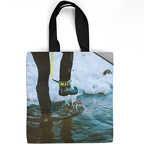 Westlake Art   Boot Sea   Tote Bag   Fashionable Picture Photography Shopping Travel Gym Work School   16X16 Inch  Aaa56