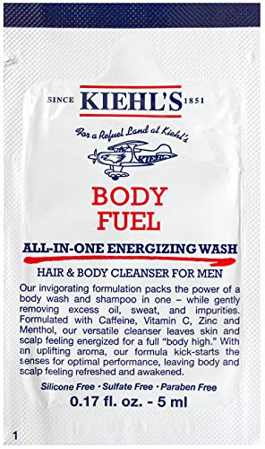 KiehI's Body Fuel All In One Energized Wash Sample Packet