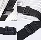 Darller 2 PCS Luggage Straps Suitcase Belts