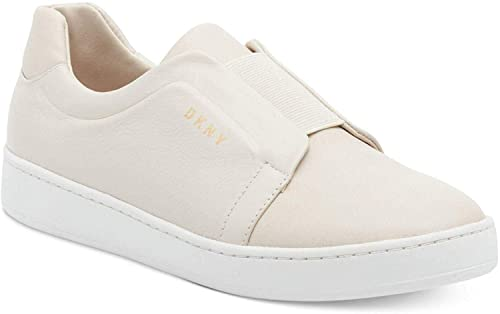 DKNY Womens Bobbi Leather Low Top Slip