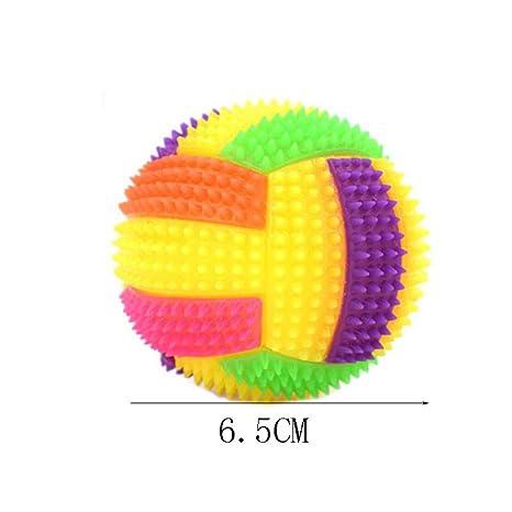 KEISL 2 Piezas Luminosas de Voleibol elástico, Juguete para ...