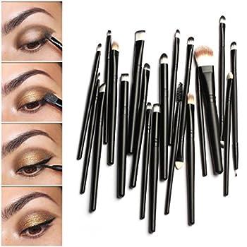 ABC  20PCS Makeup Brush Set Dotting Cosmetic Tools Shadow Pen Eyeliner Brush