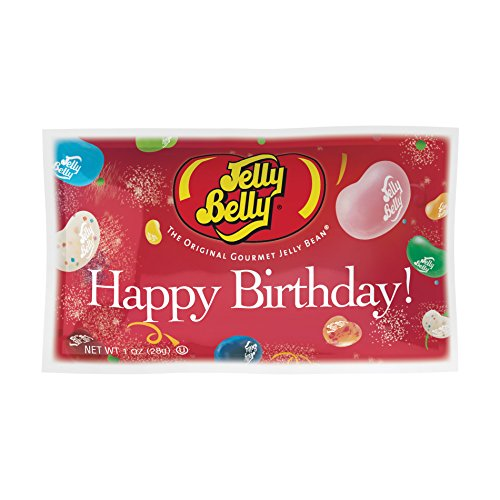 Birthday Happy Snack - Jelly Belly - Happy Birthday Jelly Bean Bag - 20 Flavor Bag