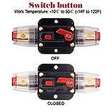 2 Pack Inline 60amp Circuit Breaker with Manual