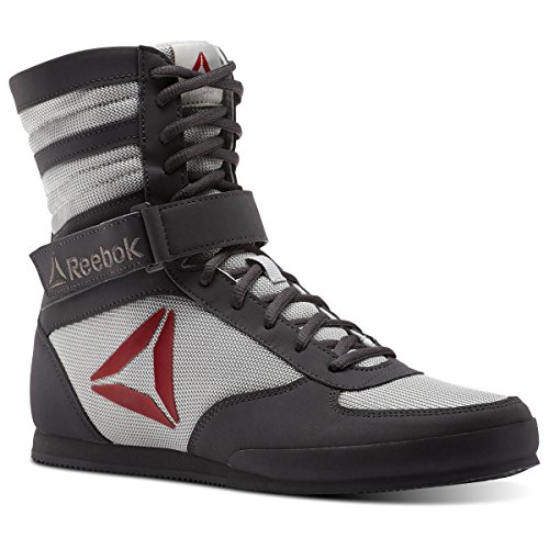 Grey Grey Men's Ash Buck Buck Trainer Red Cross Reebok Boxing White Skull Boot Excellent v8nqwxf4