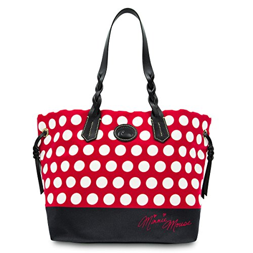 Minnie Rock The Dots Tote Handbag by Dooney & Bourke from Disney Dooney And Bourke