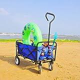 OUBLANC Wagon Cart, Collapsible Wagon Utility Wagon