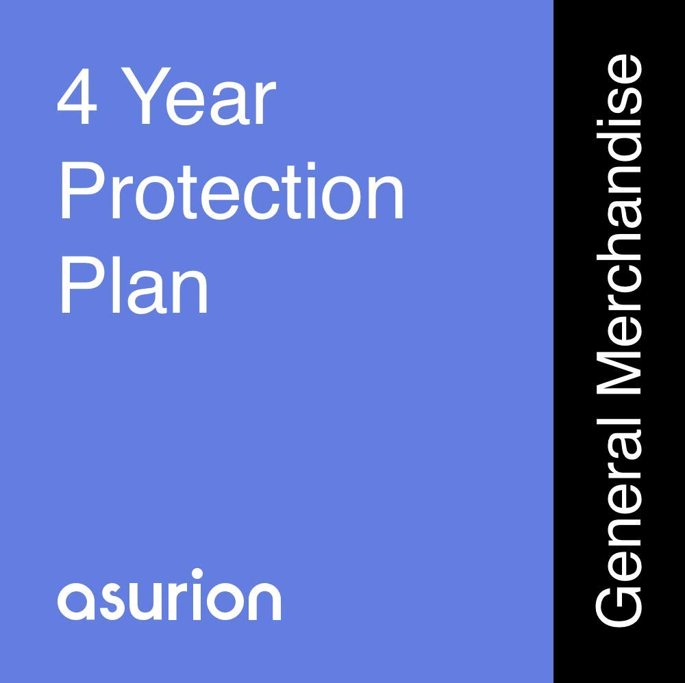 ASURION 4 Year Housewares Protection Plan $20-29.99