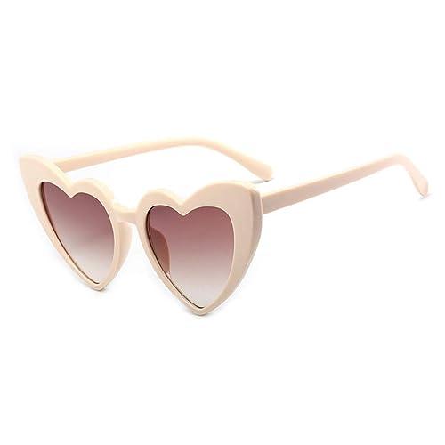 Moda en forma de corazón Gafas de sol gafas de sol de moda ...