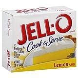 jello lemon pie filling - Jell-o Cook & Serve Pudding & Pie Filling Lemon Flavor 2.9 Oz 12 Packs