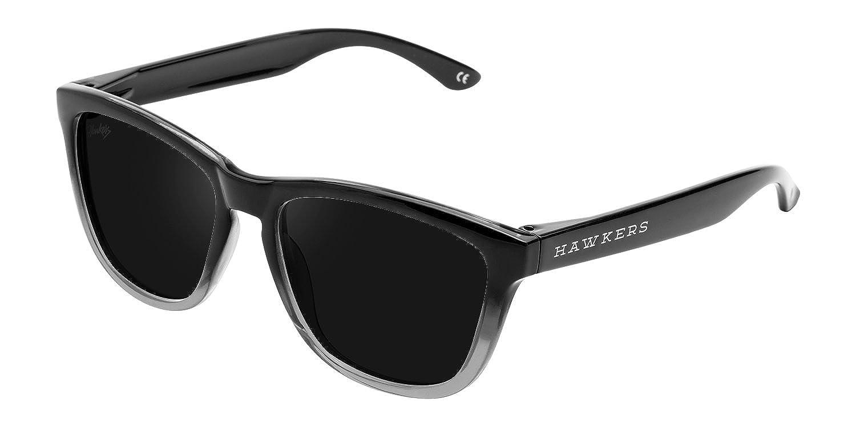 Hawkers Fusion Dark, Gafas de Sol Unisex, Negro