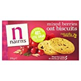 Nairn's Oat Biscuits, Mixed Berries, 7.1 Ounce Boxes For Sale