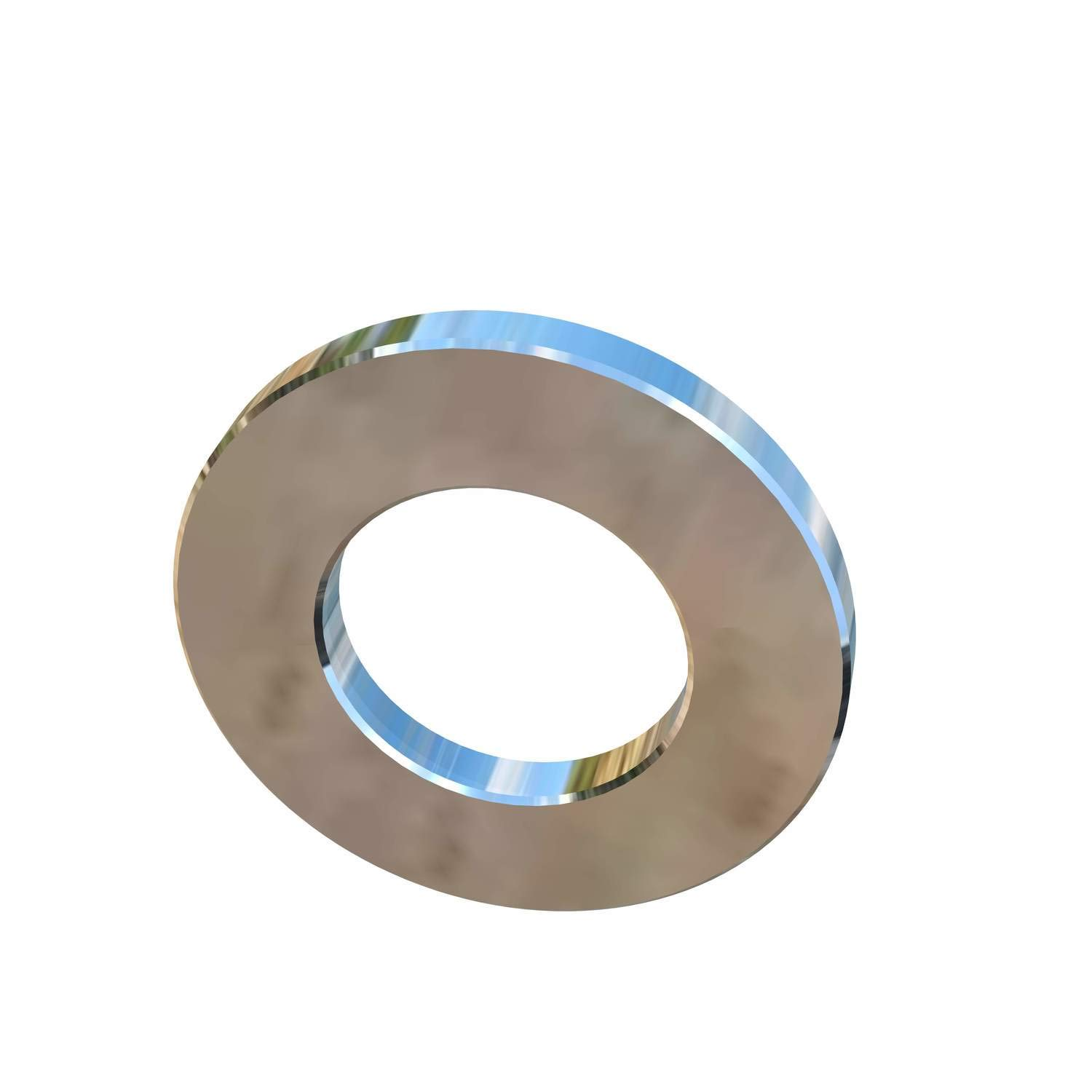 Allied Titanium 0001701, (Pack of 20) M12 Titanium Flat Washer 2.5mm Thick X 24mm Outside Diameter, Grade 2 (CP)